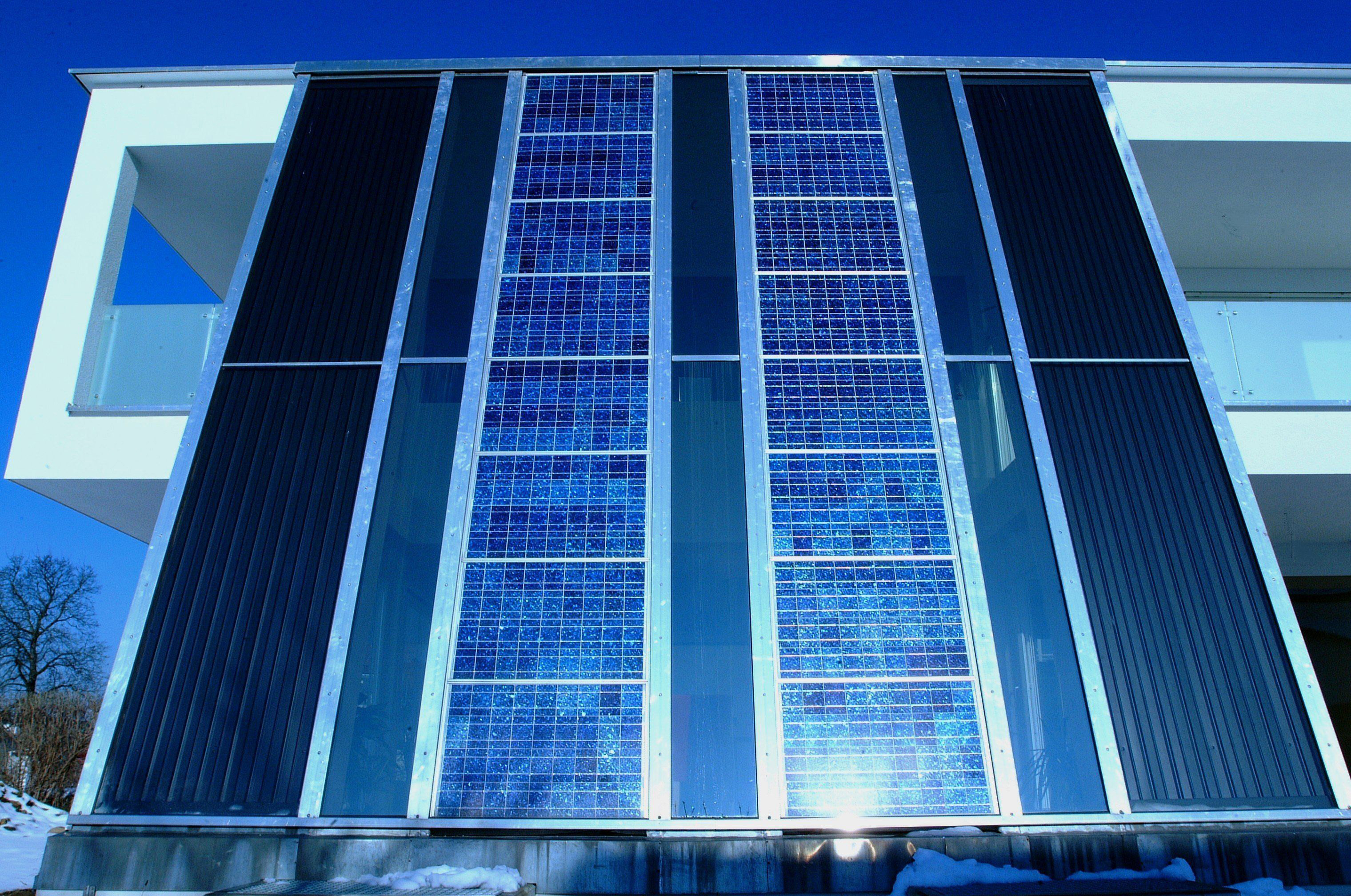 Fassade Meusburger Vorarlberg, © Christine Kees, stromaufwärts Photovoltaik GmbH