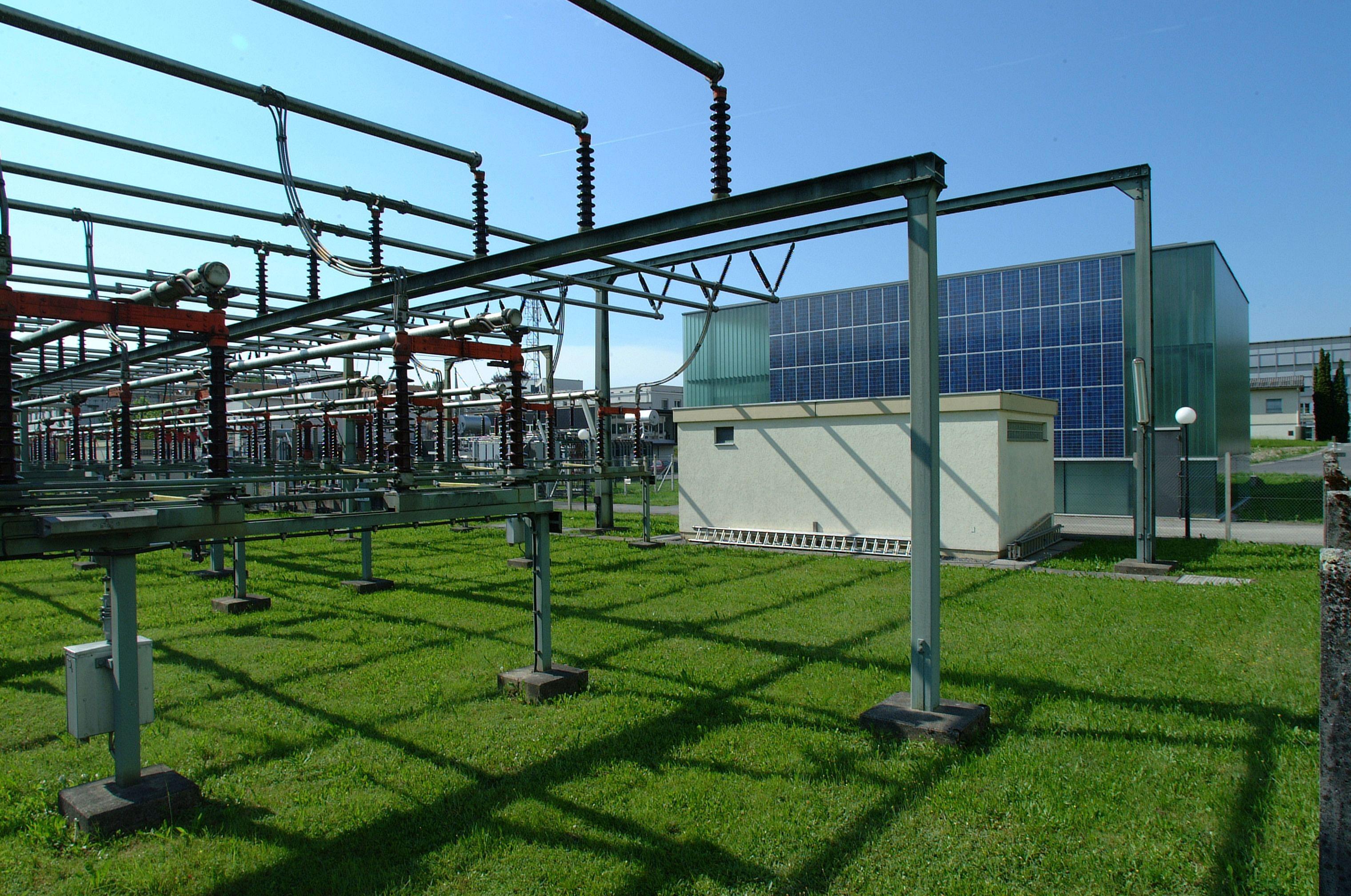 Fassade Umspannwerk Rieden Vorarlberg © Christine Kees, stromaufwärts Photovoltaik GmbH