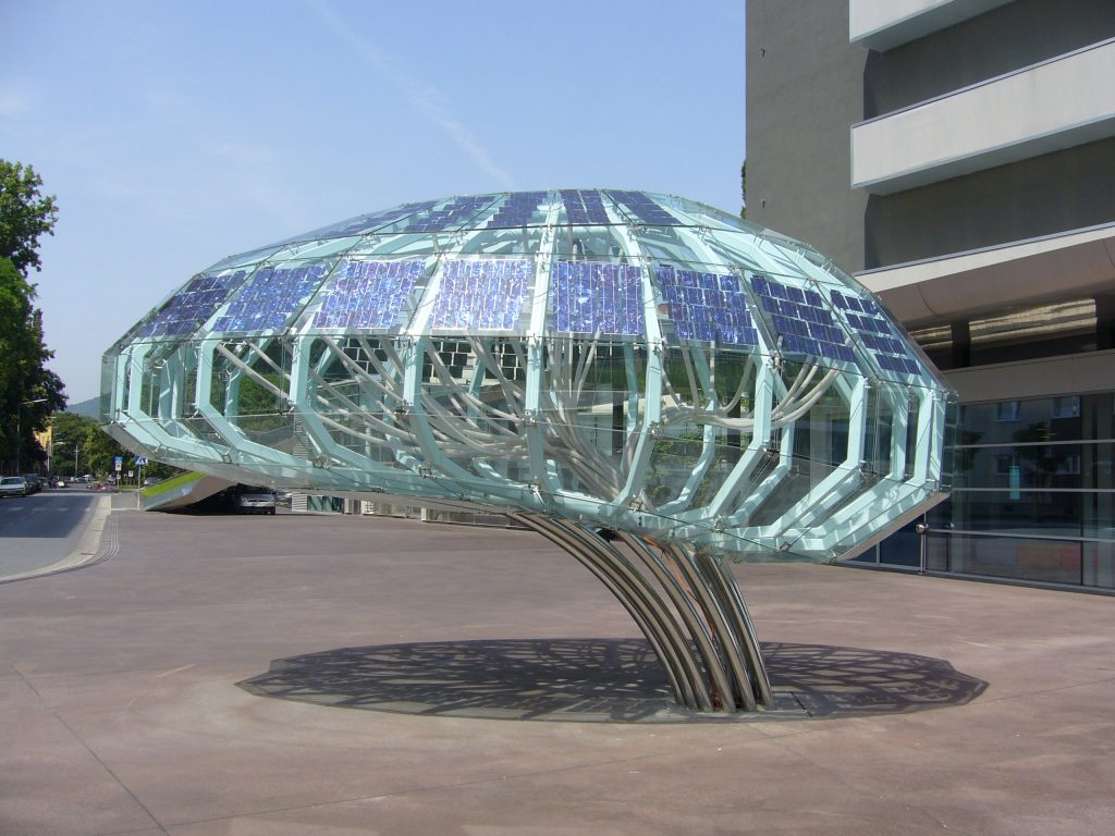 Kunstwerk Brain © Ertex Solar